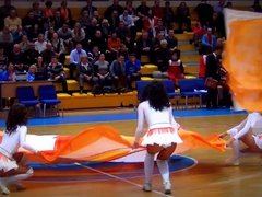 Hot Russian Cheerleaders Sexy Dance
