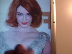 Christina Hendricks Cum Tribute 5