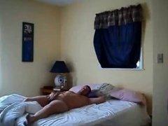 Blonde wife on real hiddencam