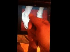 Taylor Swift's Feet Cum Tribute