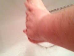 Foot care for men - step 7 - bath after work