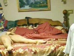 Enjoy my mum rubbing pussy. Hidden cam