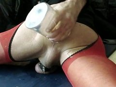 Insertion Extreme (2) with Dildo 34 x 9 cm