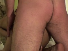 Anal Threesome With Submissive Teens
