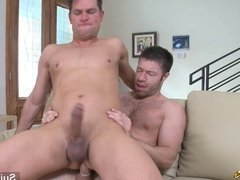 Married guy suck and ride anally a gays dick