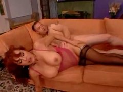 Latina Milf gets fucked in ass and nut in her mouth