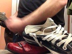 Fucking girlfriends shoes part 1
