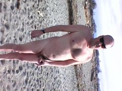 flim a la plage pendant que je me branle