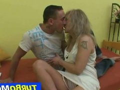 Czech lady Alena fucked in her ass