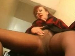 Upskirt on the Stairs1