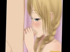 Hentai sex game Sweet blonde sweet sex