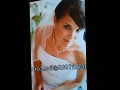 Tribute to hot bride cum rag