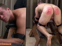 Justin Bennett Paddled on the Bench