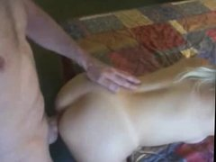 Amateur Blonde Ass Girl Ride Fuck Big Cock Doggy Style
