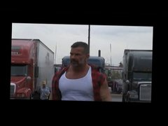 Muscle Truckers in Orgy