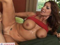 Busty mom Tara Holiday fucking