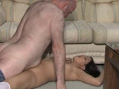 Zarina Masood with Older Guy