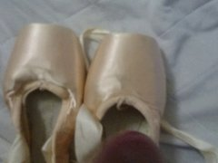 2015.02.16 BLOCH Pointe shoes cum again