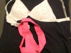 cum on NOT my niece's bra and panties