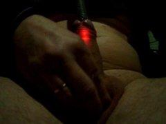 hole illuminate interior cock bite balls led light insertion