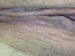 Rubbing my gf's pussy