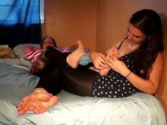 sarah tickles peggy