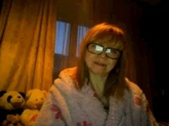 Having a good time with a mature on webcam