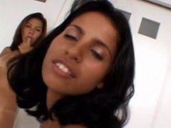 4 brasilian teens sexy nude lesbian dancing