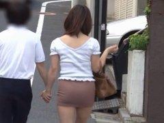Japanese MILF groped