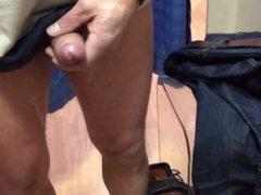 Masturbating cabine