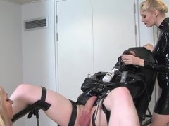 rubber gyno session