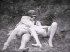 Lesbians Finger Play-1917