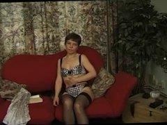 Horny Granny Gets Naked