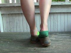 Caroline Toms shoeplay socks PREVIEW