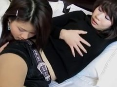 Hot Asian lesbian foot fetish