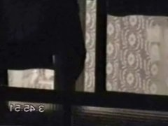 voyeur window wanker dark night caught teen boy jerking