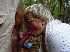 Amatur Granny Oral