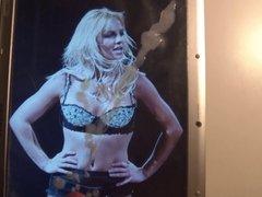 Britney Spears Cum Tribute 42