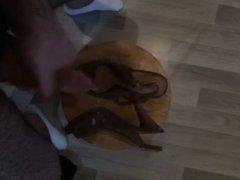 Shoe Cumshot