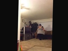 Ssbbw pear dancing