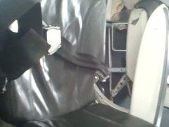 cheesy feet on the plane