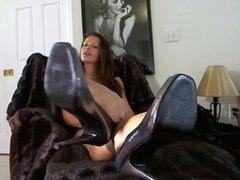Foot goddess feet tease