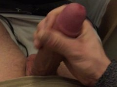 Risky Train Cumshot