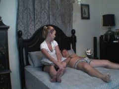 Amateur Wife with Strap-on