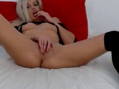 Naughty Blonde Wants to Cum
