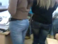 Nice ass in jeans(no touch)
