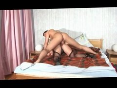 Cougar Enjoys Fucking With Younger BVR