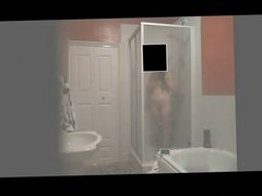 Perfect Teen Filmed In The Shower (Part 2)