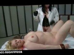 Femdom Lesbian Playing Doctor