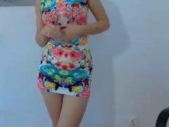 webcam leg show
